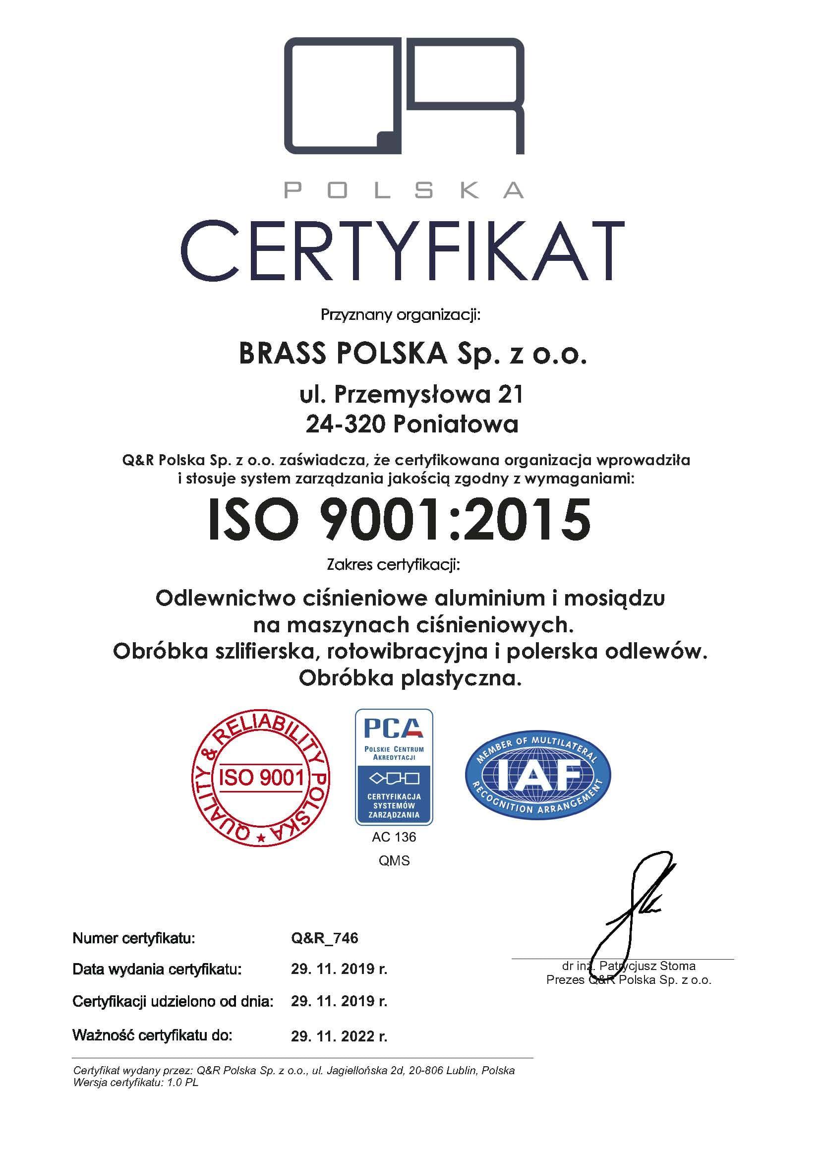 certyfikat QR_746 certyfikat ver 1